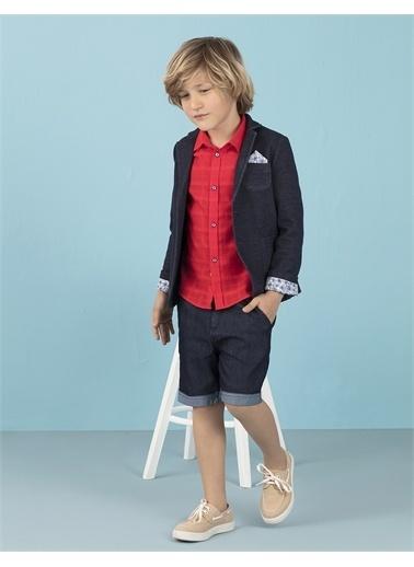 Ollie & olla Mavi Triko Erkek Çocuk Ceket Lacivert